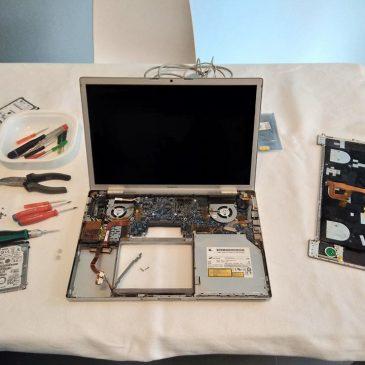 Sostituzione Hard Disk PowerBook G4